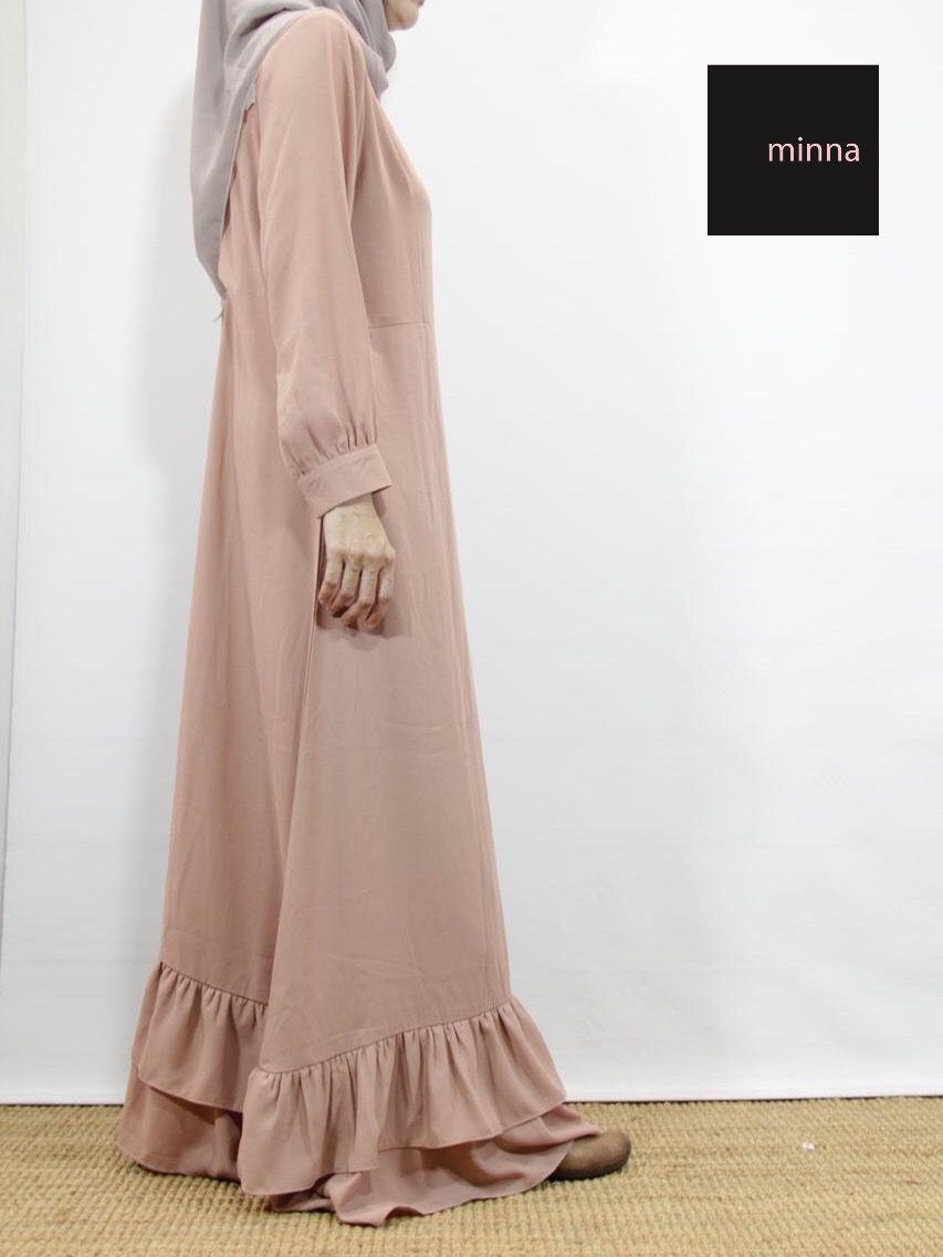bananah gamis  Pakaian wanita, Baju muslim, Pakaian islami