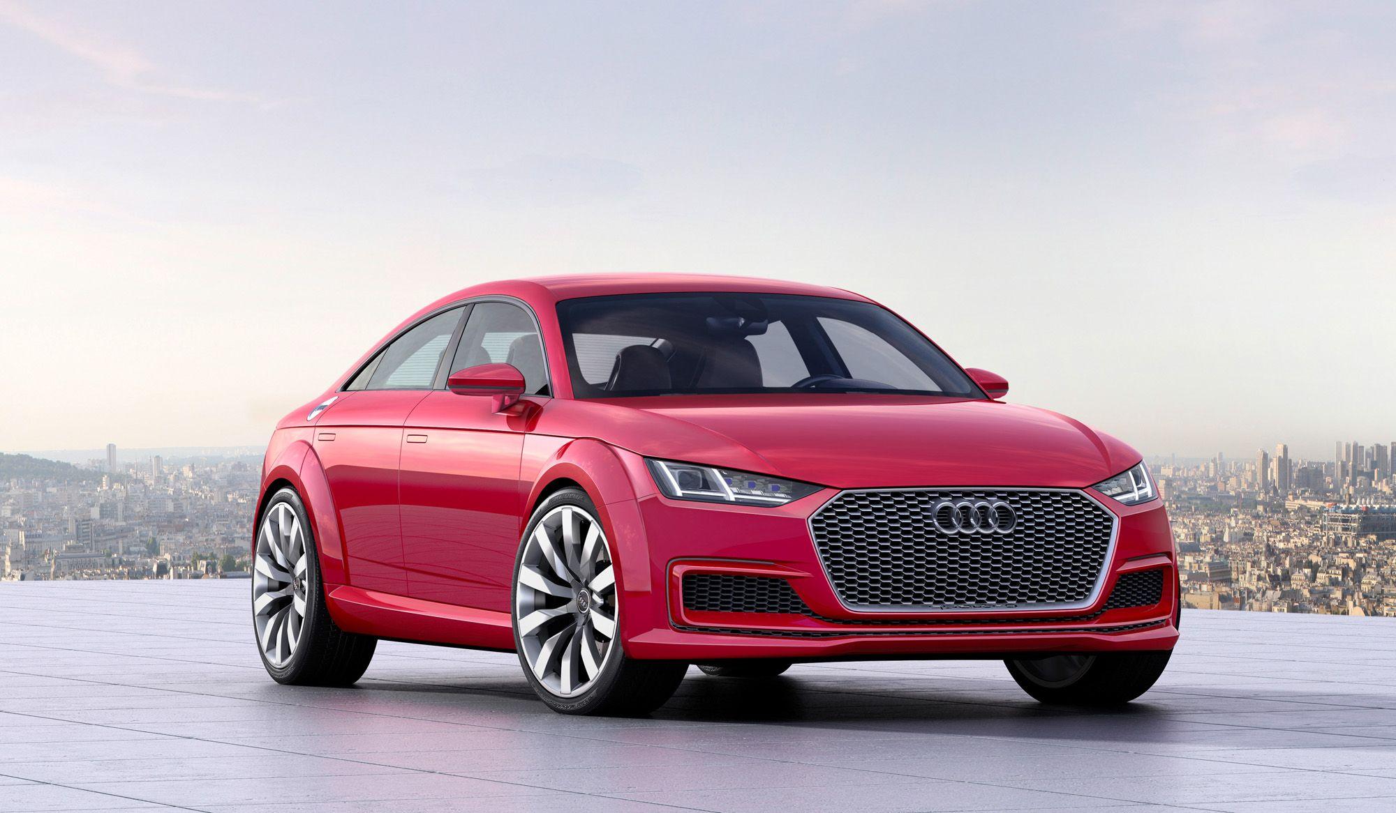 Audi TT Sportback concept 8S: Kombi mit Mehrwert? | Autos, Magazin ...