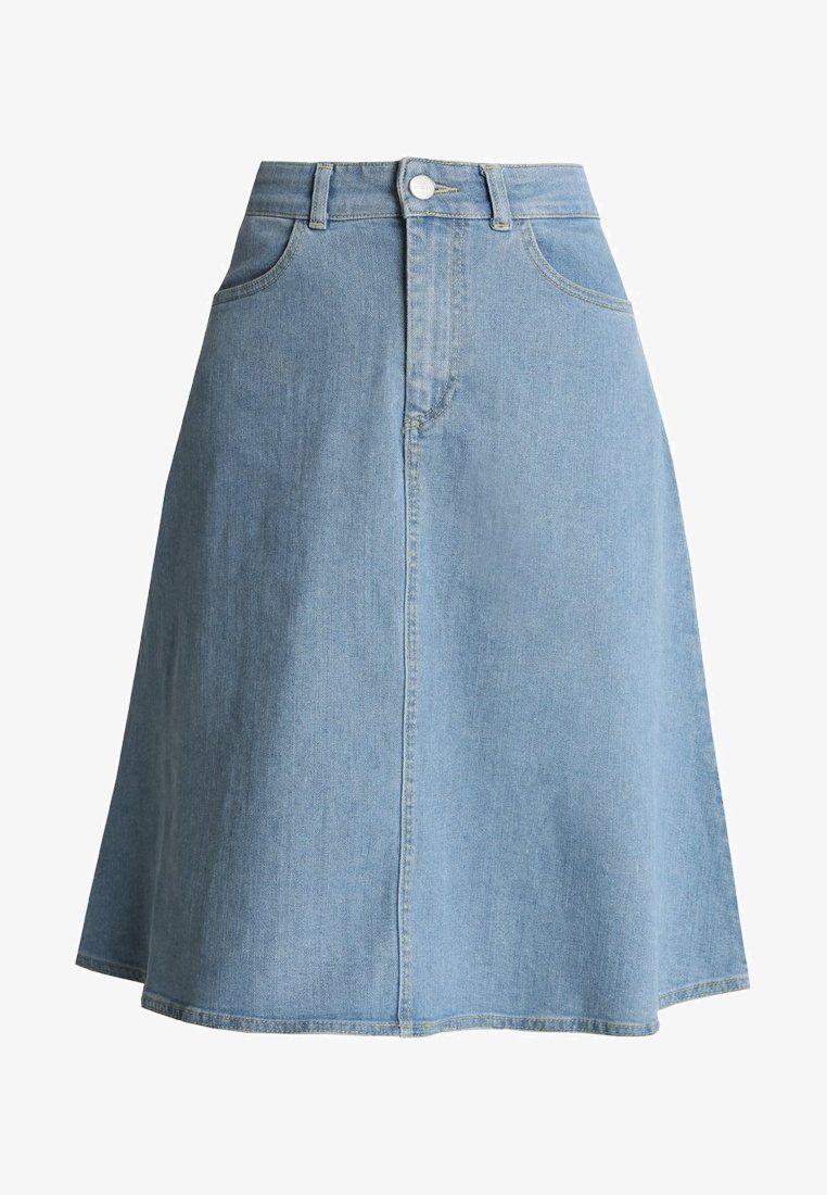 san francisco d7f74 f9553 STEFFI - A-snit nederdel/ A-formede nederdele - mid indigo ...