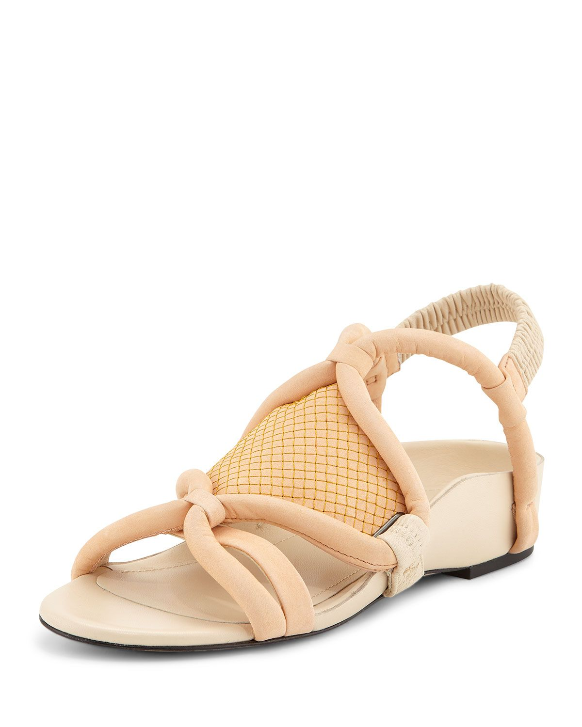 Marquise Tubular Strappy Sandal, Peach (Pink), Women's, Size: 36.0B/6.0B - 3.1 Phillip Lim