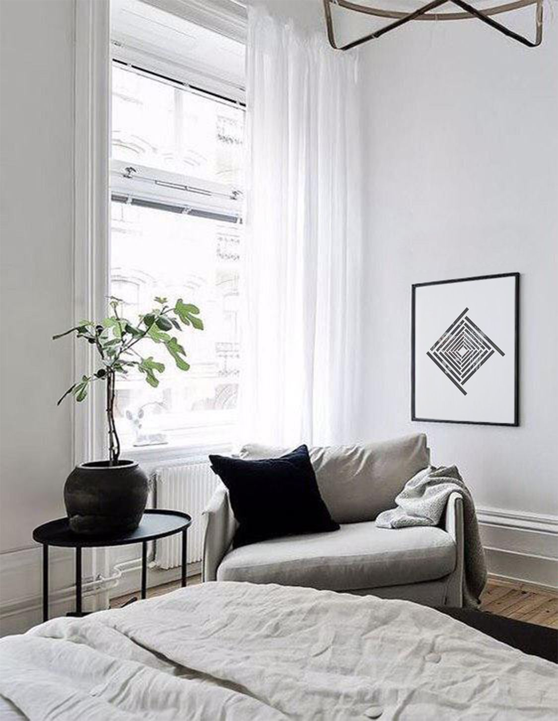 Black Abstract Art, Minimalism, Geometric Art, Printable Art, Digital Print, Minimalist Print, Home Decor, Office Decor, Bedroom Art, Poster