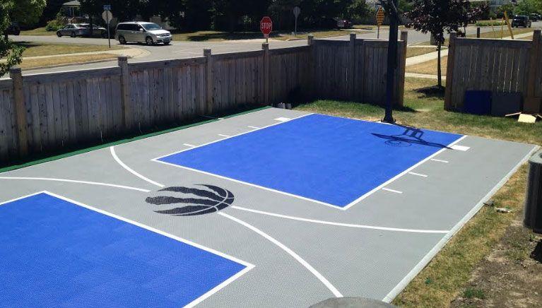 Backyard Basketball Courts, Outdoor Courts, Toronto ...