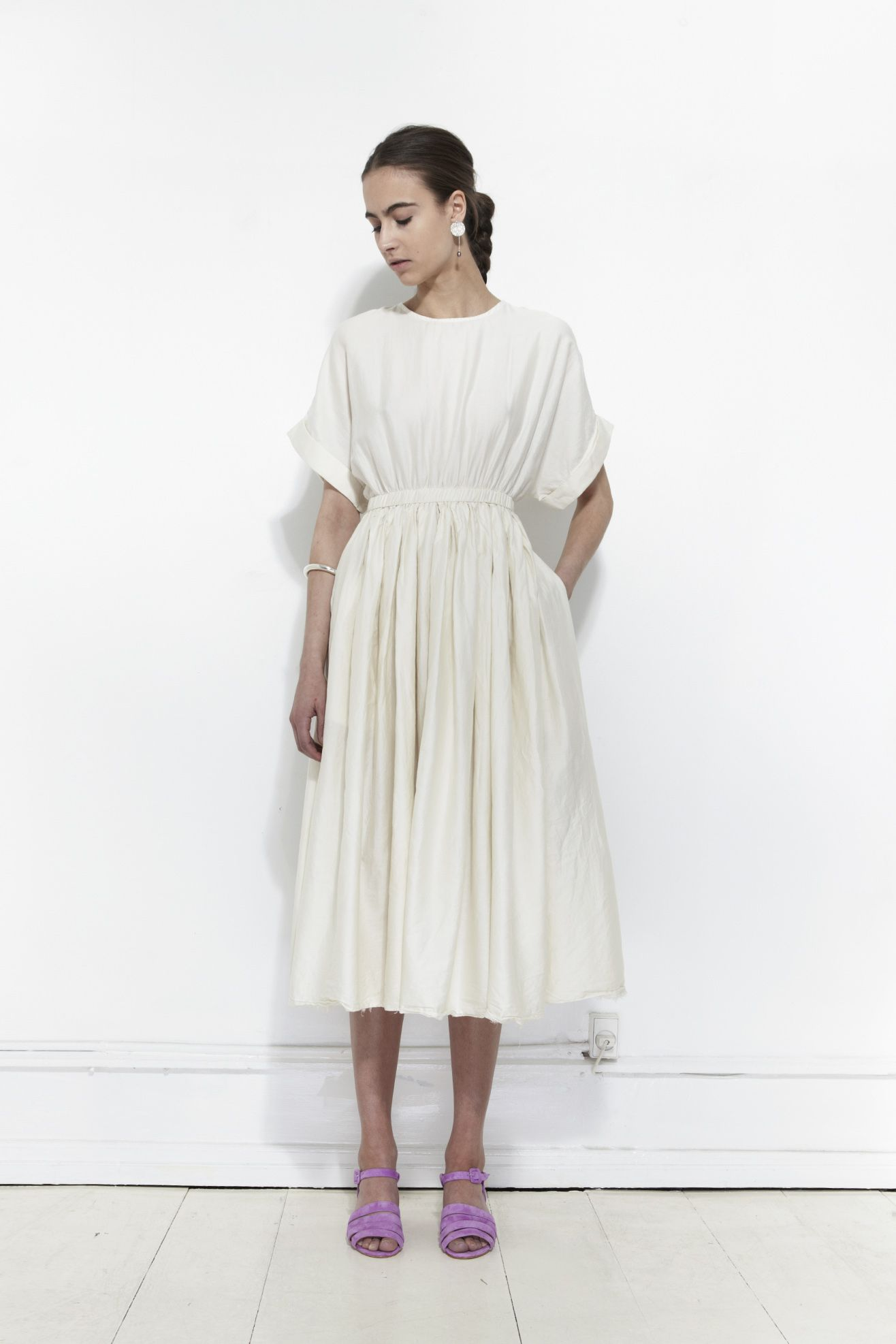 the pleated dress