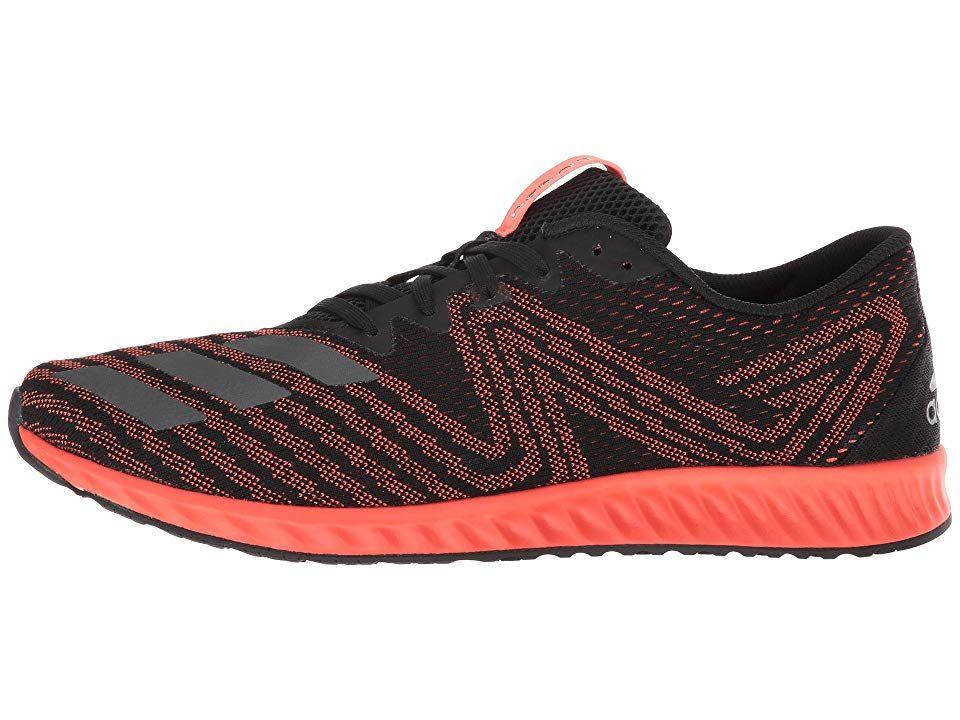 6b9b150405b1e2 adidas Running Aerobounce PR Men s Running Shoes Black Night Metallic  F13 Solar Red