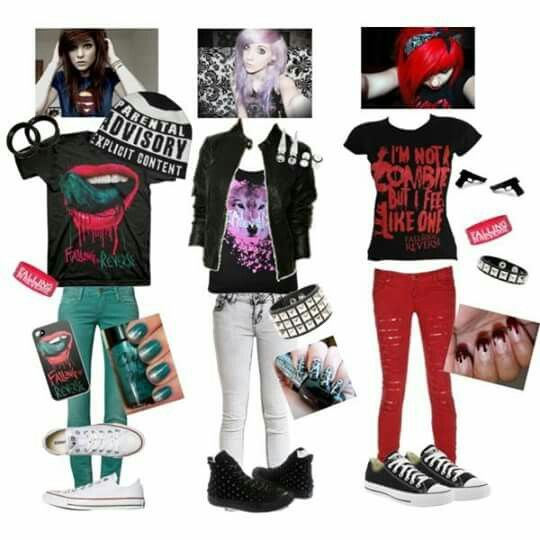 Emo Outfits, Emo Style