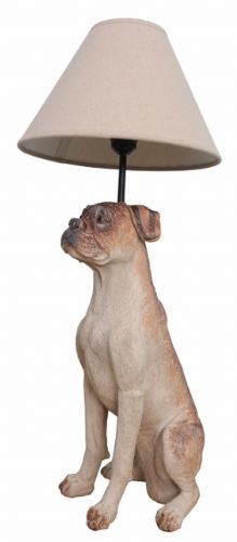 Boxer dog table lamp with shade ideas para hacer pinterest dog boxer dog table lamp with shade mozeypictures Image collections