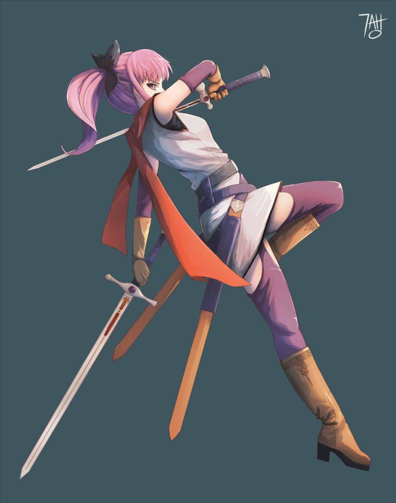 Dragon Quest Heroes -Teresa- by 7AHO deviantart com on @DeviantArt