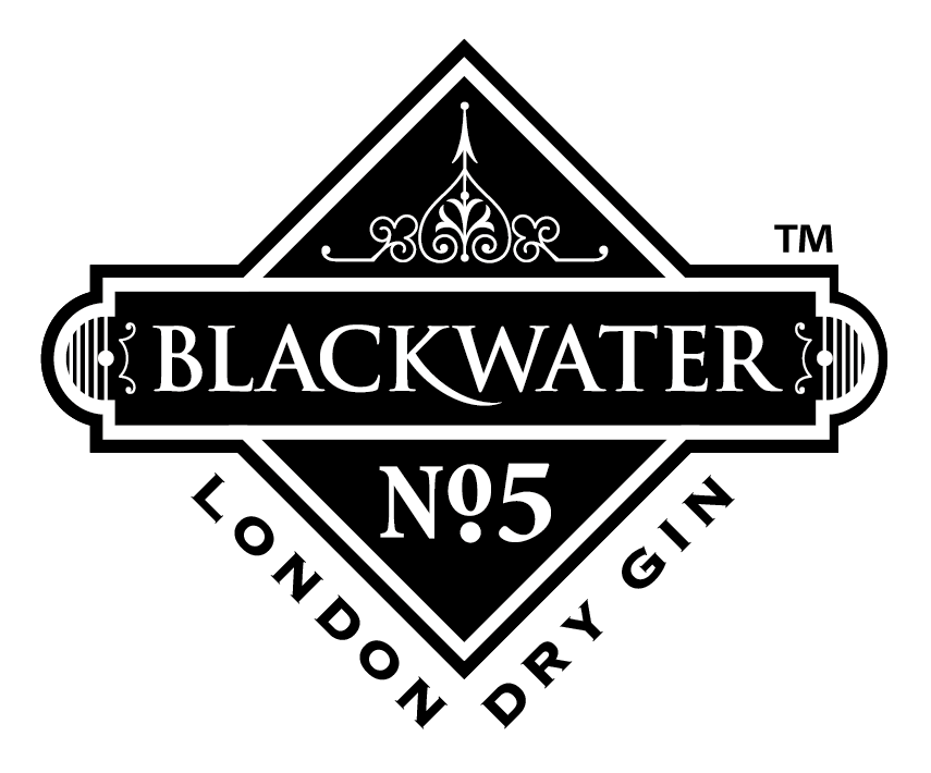 Blackwater Gin Logo By Passion For Creative Logos Pinterest