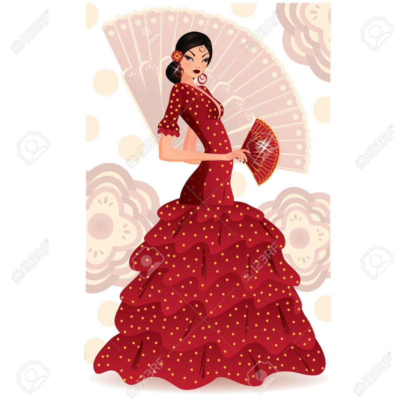 vector bailador de flamenco - Buscar con Google   Drawing Flamenco ...
