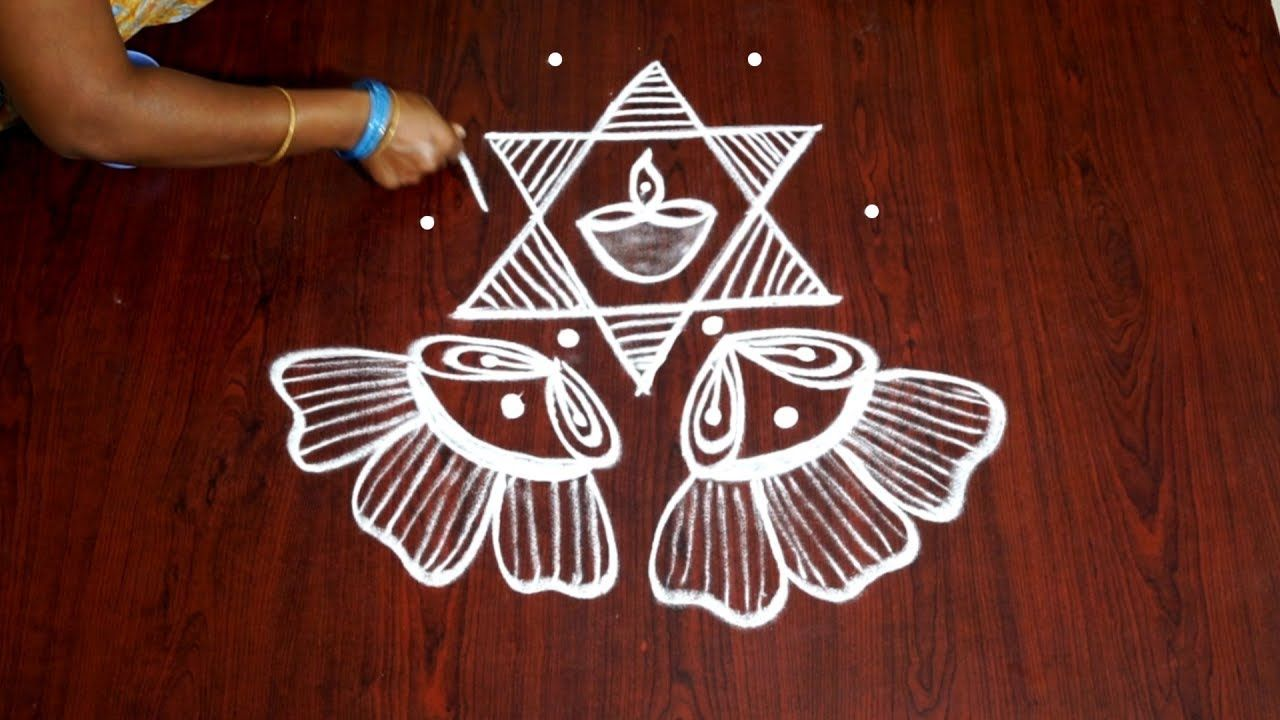 5 pulli kolam kolangal 5 dots rangoli rangoli designs with 5 dots