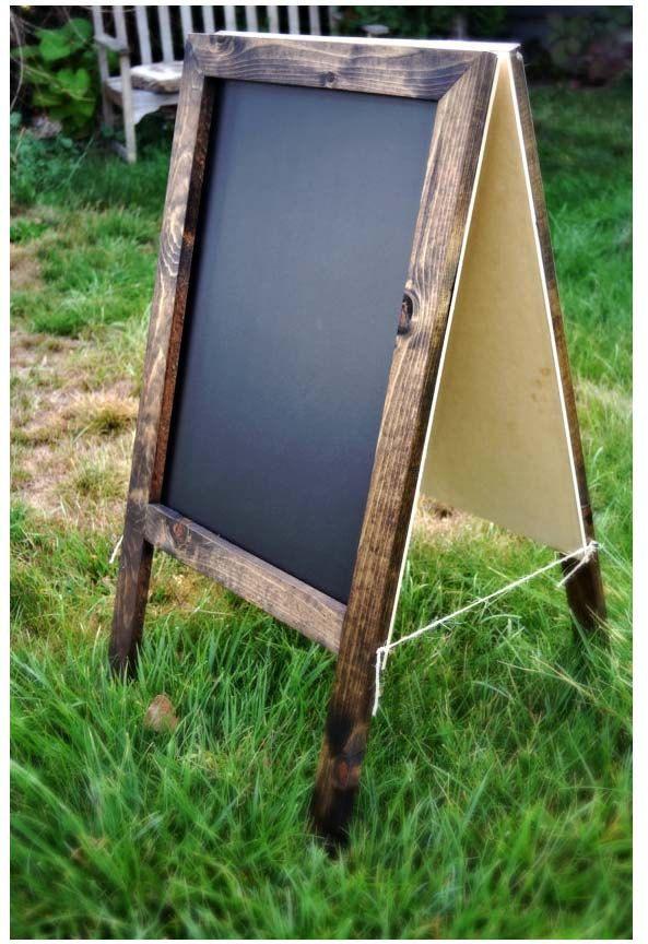 Rustic A Frame Sandwich Chalkboard 36x20 Http Style It L