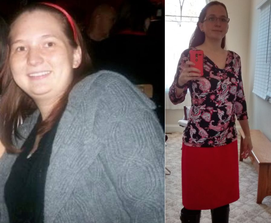 """Thanks for the low-carb challenge!"" 