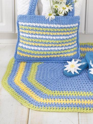 Oval Rug Yarn Free Knitting Patterns Crochet Patterns Yarnspirations Crochet Rag Rug Rug Pattern Oval Rugs