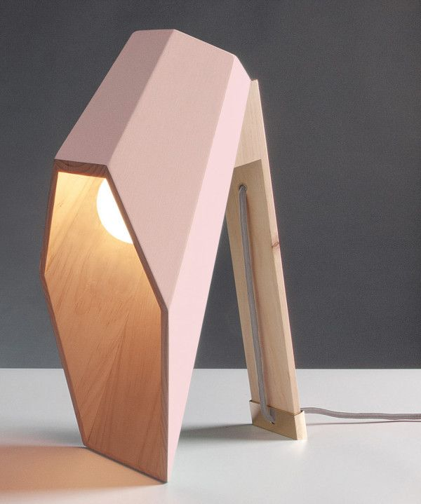 Woodspot: A Lamp with an Unusual Profile Designed for Seletti by Alessandro Zambelli