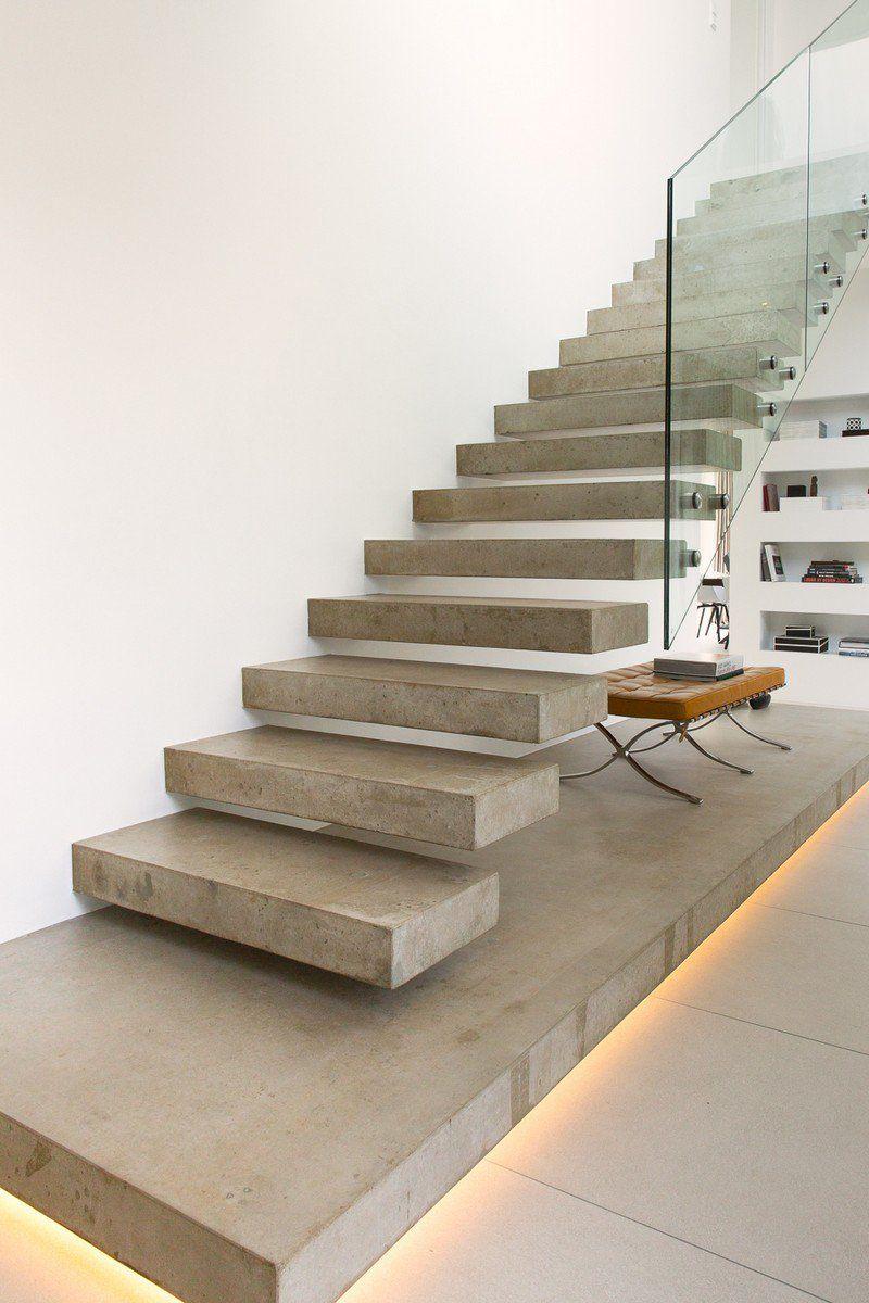 Escalier moderne béton : mariez praticité avec esthétique !