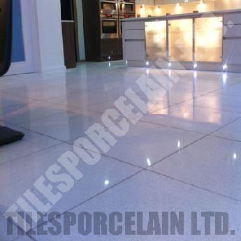 White Starlight Quartz Tiles Floor Wall