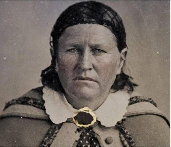 Cynthia Ann Parker 1825 1871 Wife Of Comanche Chief Peta Nocona
