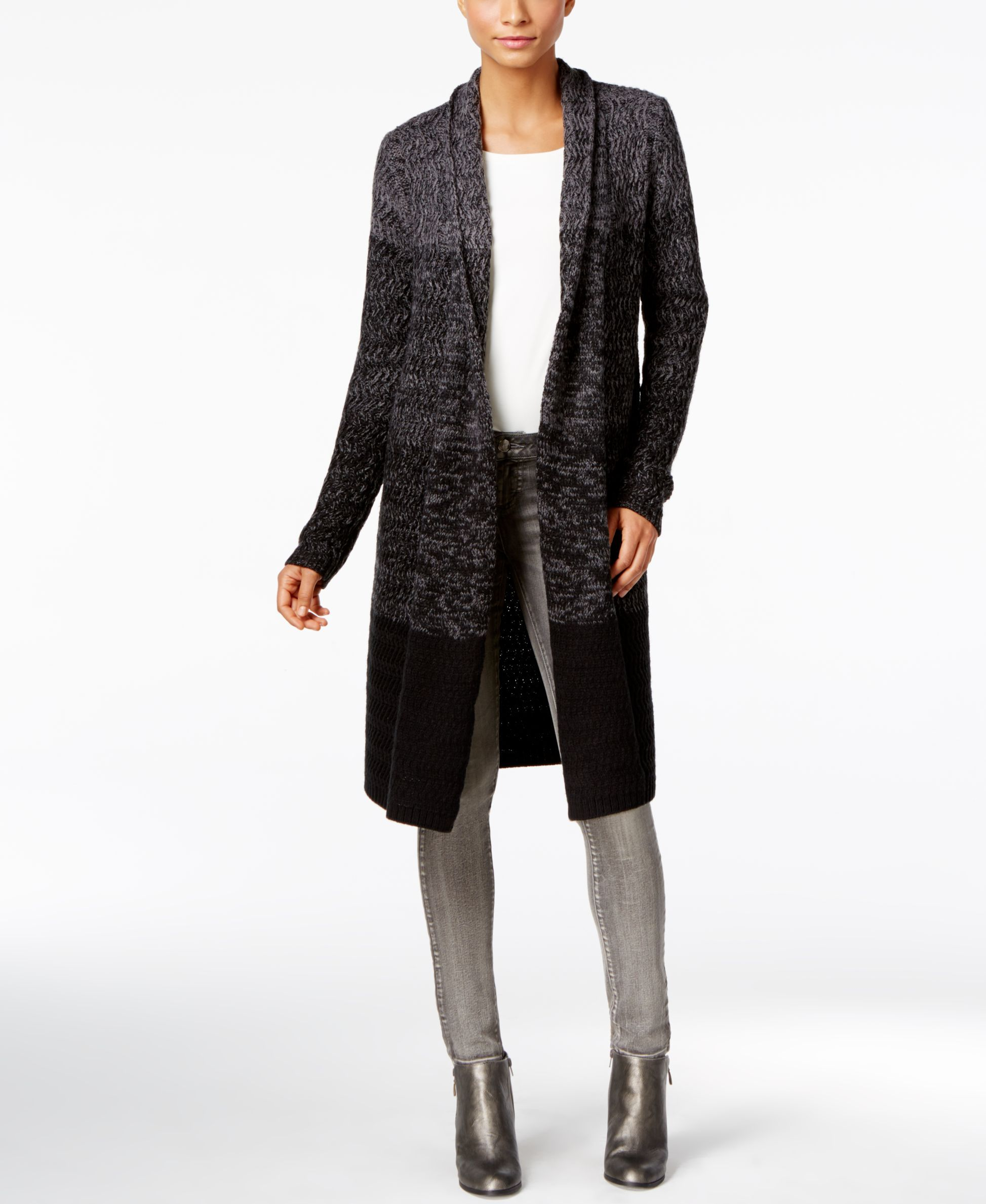 Style & Co. Ombre Duster Cardigan, Only at Macy's | Products ...