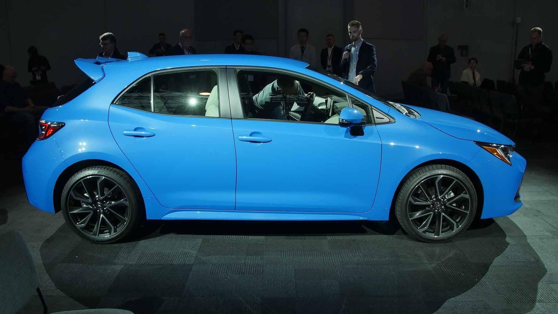 2019 Toyota Carolla Exterior And Interior Review Toyota Corolla Toyota Corolla Hatchback Corolla Hatchback