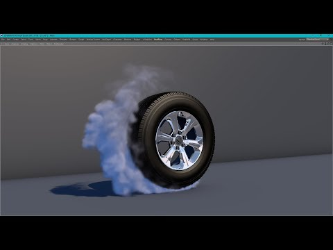 11 Burnout Tire Smoke Simulation In Cinema 4d With Turbulence Fd Tutorial Youtube Cinema 4d Smoke Animation Fire Animation
