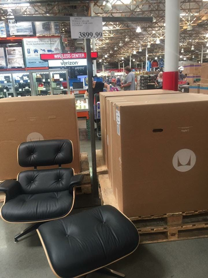 Discounted Design Here S How The Eames Lounger Ended Up At Costco