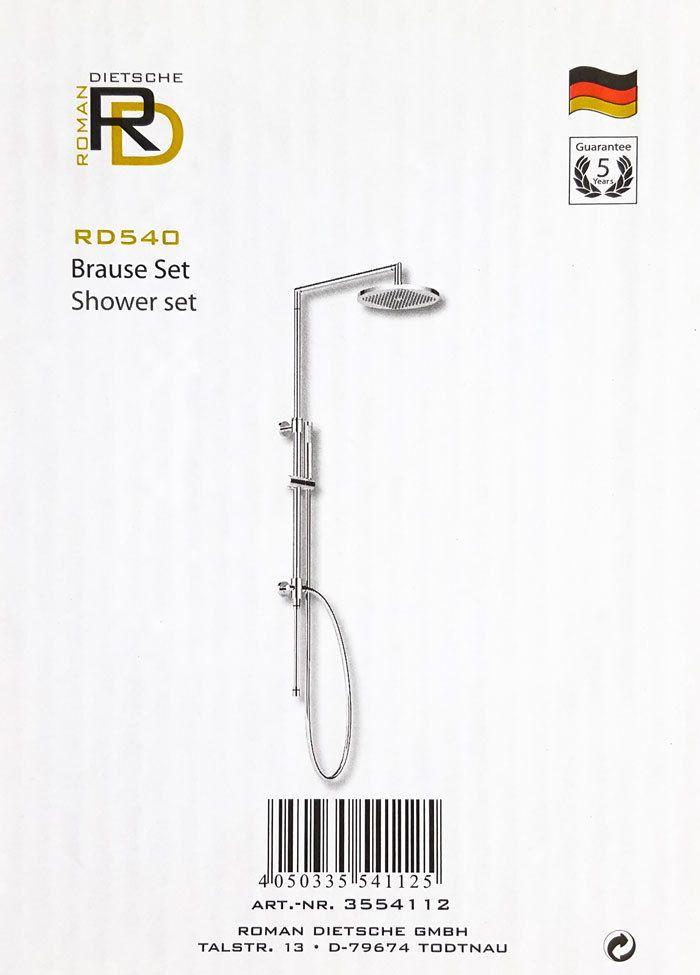 Details zu Aufputz Duscharmatur Duschsäule Duschset Duschsystem