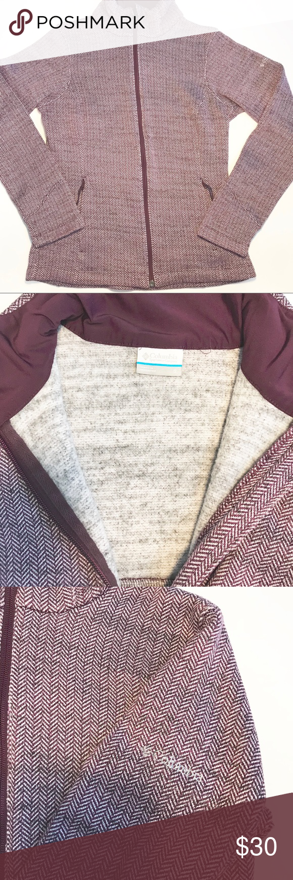 b920b5a2198 Columbia Full Zip-up Women s Jacket Size Small Great excellent condition  Warm and soft Not accepting trades at this time Offers always welcomed See  photo ...
