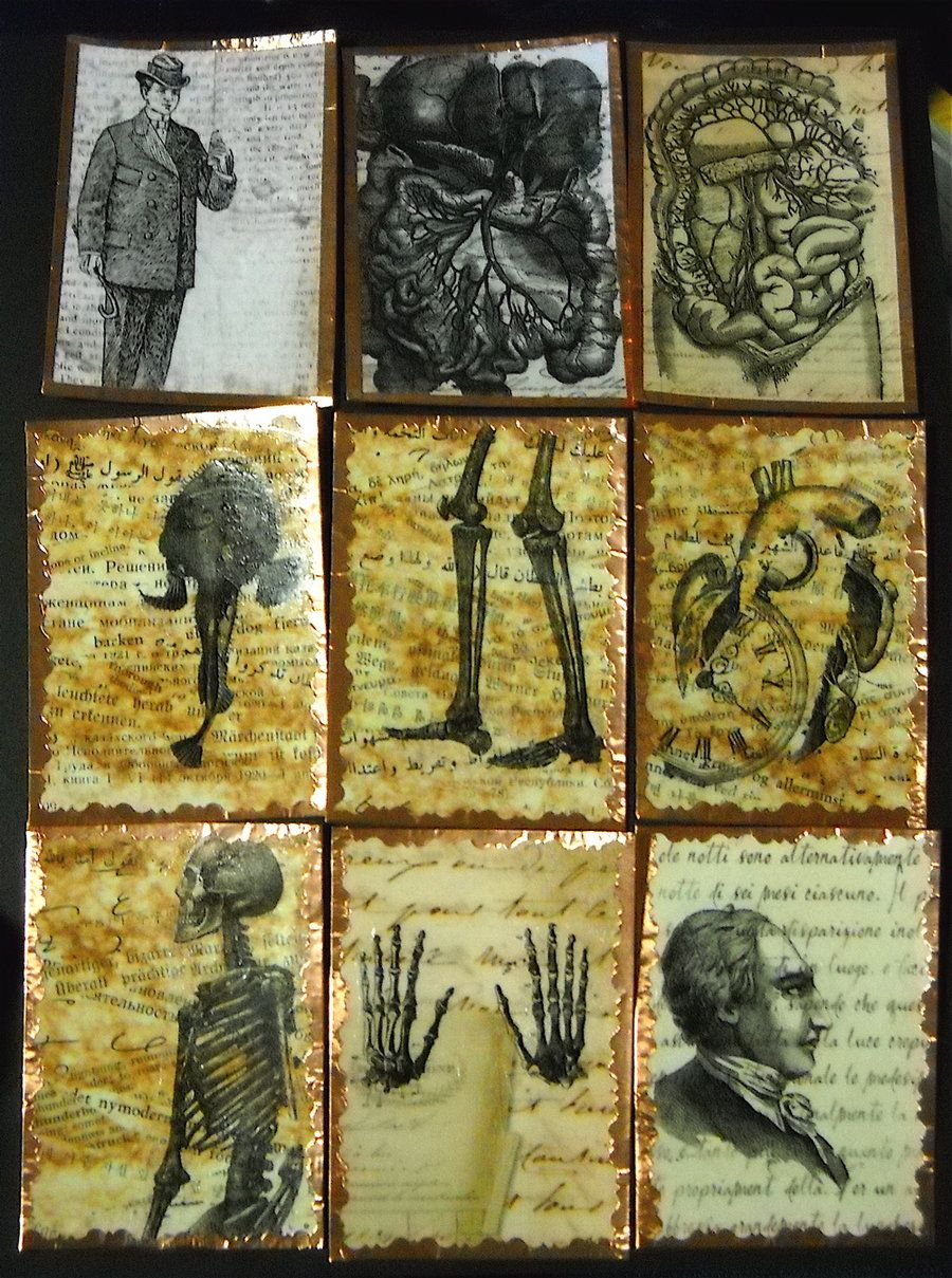 Artist trading cards 154 by