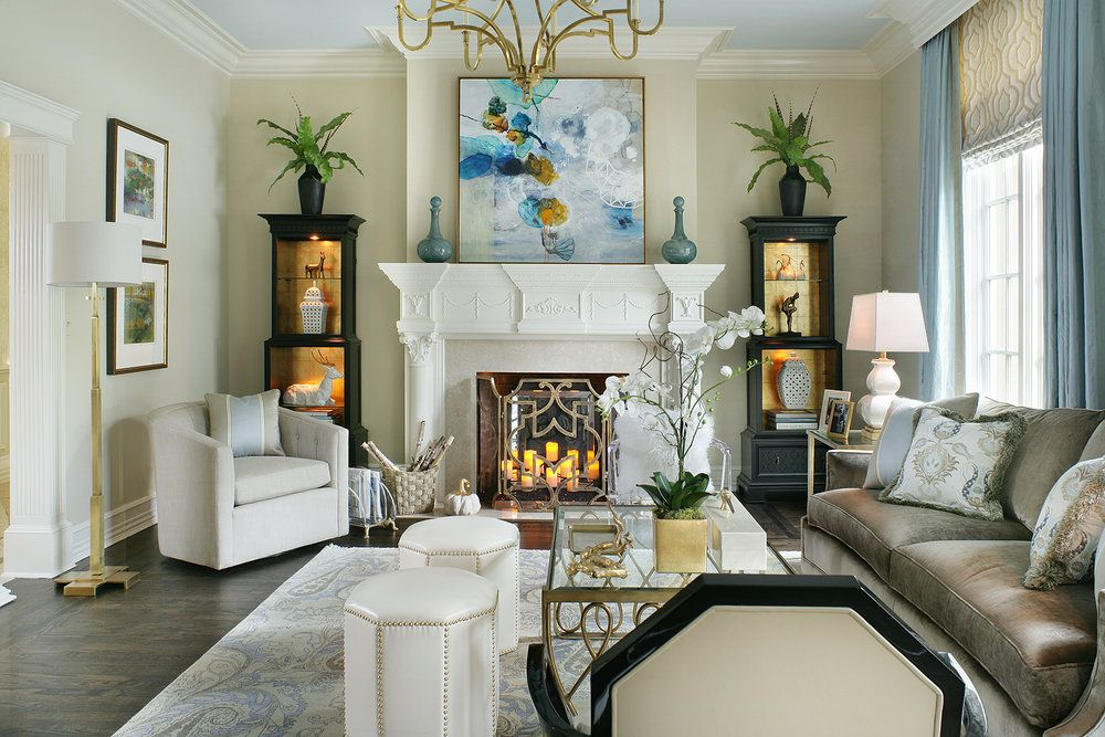 Interiors · Photo By: Peter Rymwid · Bergen CountyDesign ...