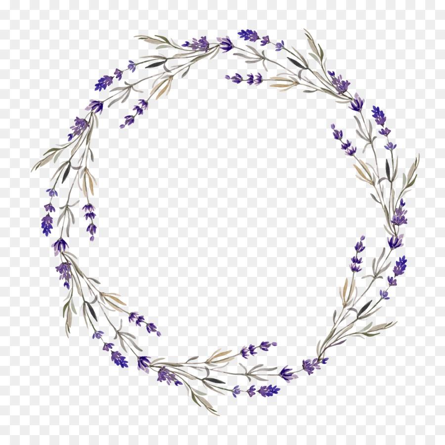 Lavender Flower Wreath Clip Art Kwiat Watercolor Flower Wreath Flower Wreath Illustration Wreath Watercolor