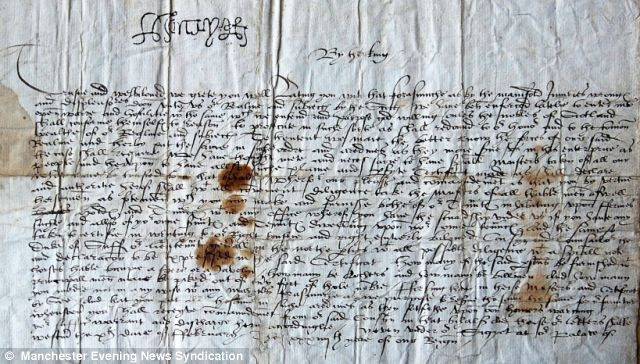 Letter from Jane Seymour found after 469 years informing Henry VIII of the birth of his son!! Amazing!!!!
