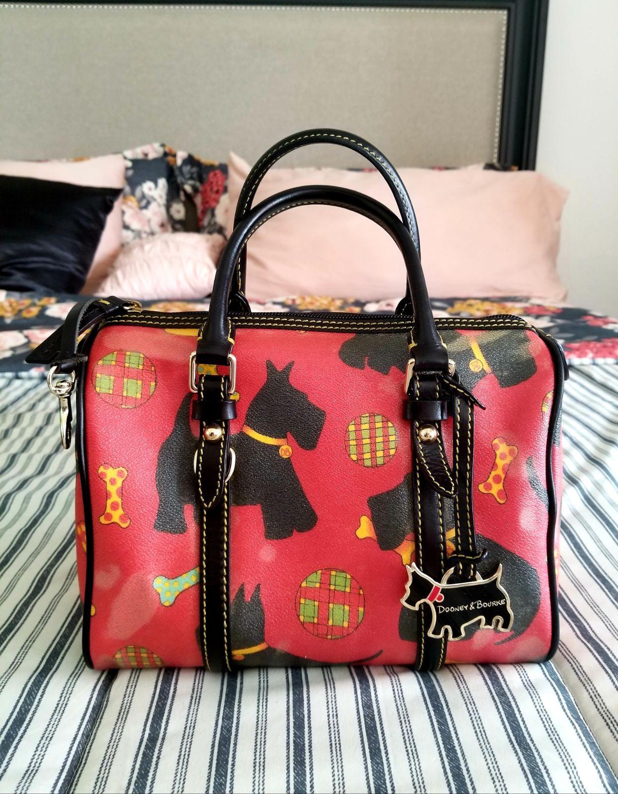 Dooney Bourke Scottie Dog Doctor Bag