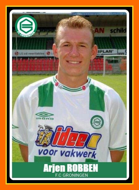 1b231fa395 Arjen Robben - FC Groningen Futebol Internacional