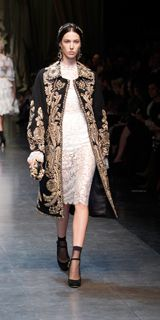Dolce Fall Winter 2013 women's collection is the tradition of Sicilian Baroque! #Fashion
