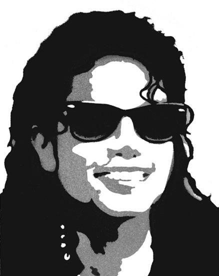 pop art black and white michael jackson google search