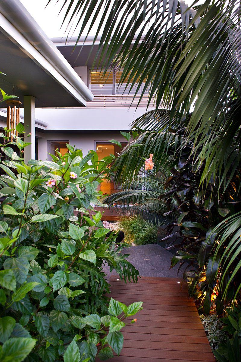 broome style garden perth   Landscape design, Australian ...