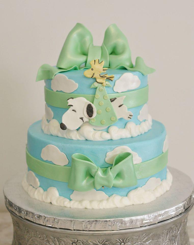 Snoopy Baby Shower Cake Kittiskakes Baby Phillips Shower