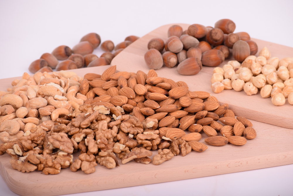 Gain less weight? Improve heart health? Nuts to that!