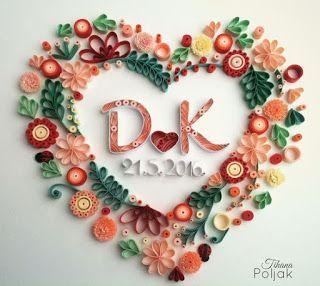 Aprende cómo hacer letras decorativas con papel técnica filigrana ~ Solountip.com