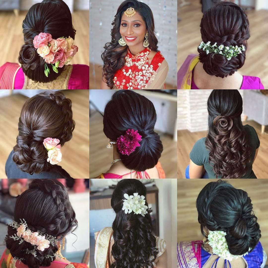 Chennai We Are Coming To You For Our Very First International Bridal Hair Workshop Bridal Hair Tutorial Bridal Hair Buns Short Wedding Hair