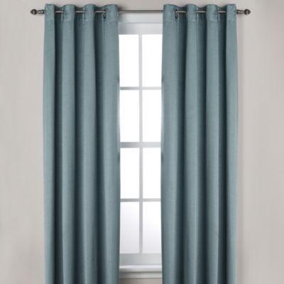 Ashton Grommet Window Curtain Panels - BedBathandBeyond.com Bought ...