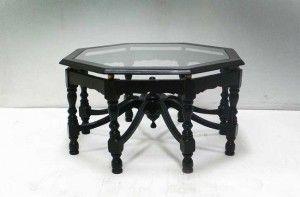 Black Victorian Coffee Table