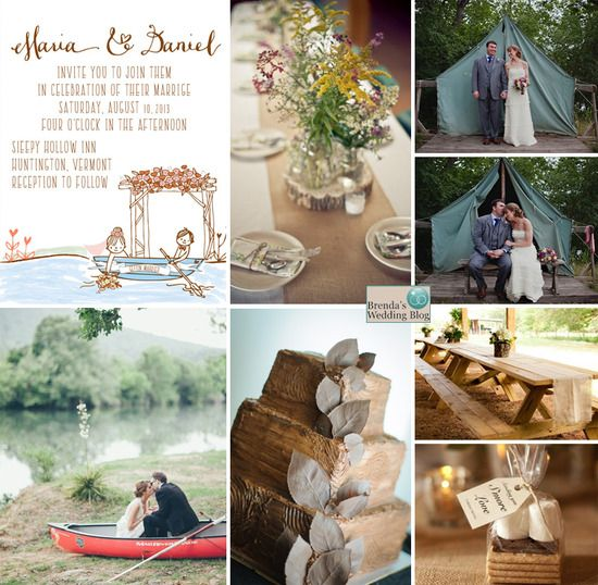 Let S Go Camping Wedding Theme Ideas And Inspiration With