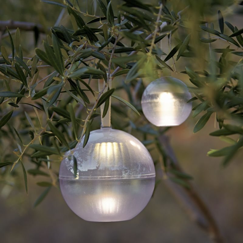 Globe Lights from Crate and Barrel Currently coveting