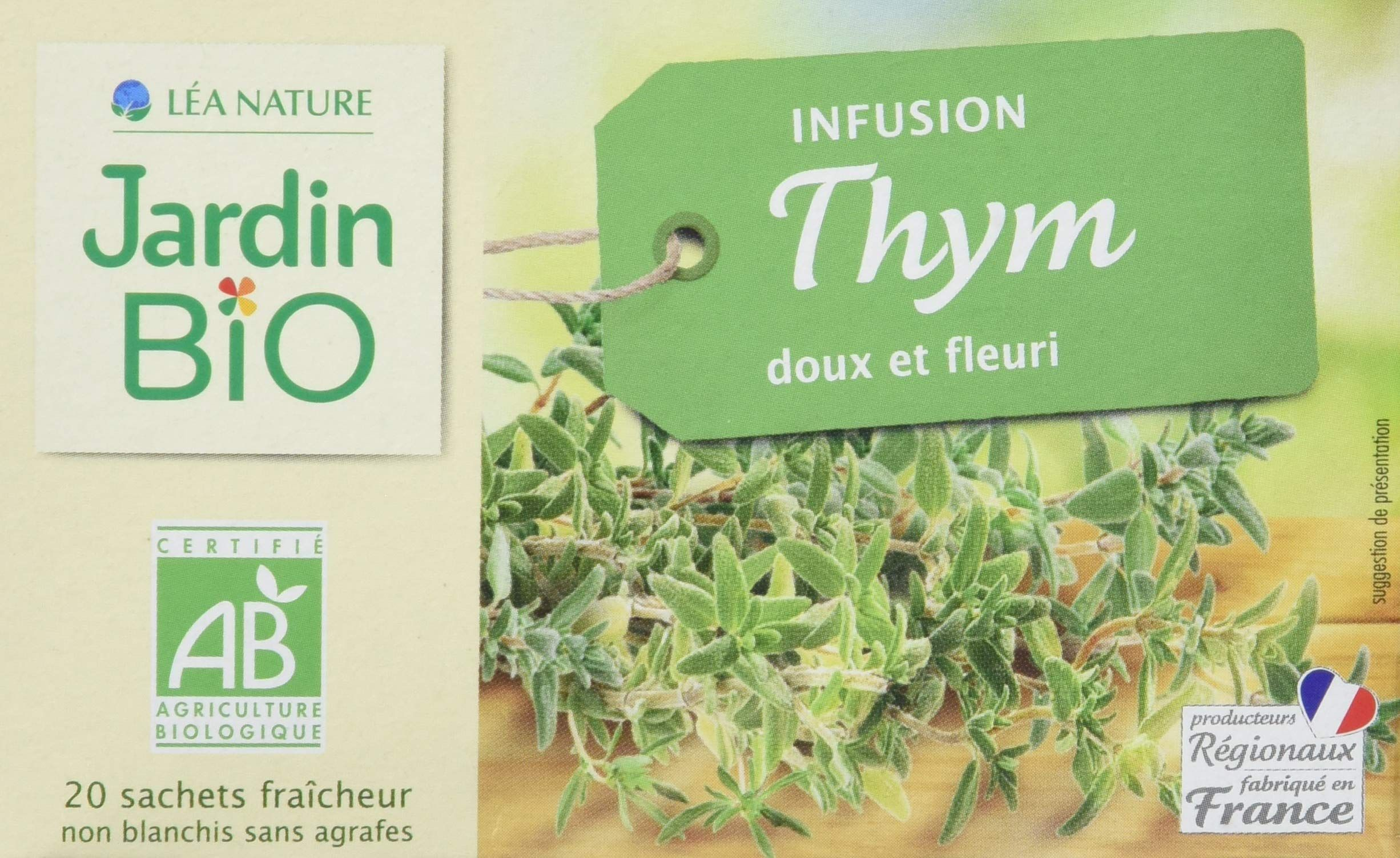 Jardin Bio Infusion Thym 28 G In 2020 Place Cards Cards