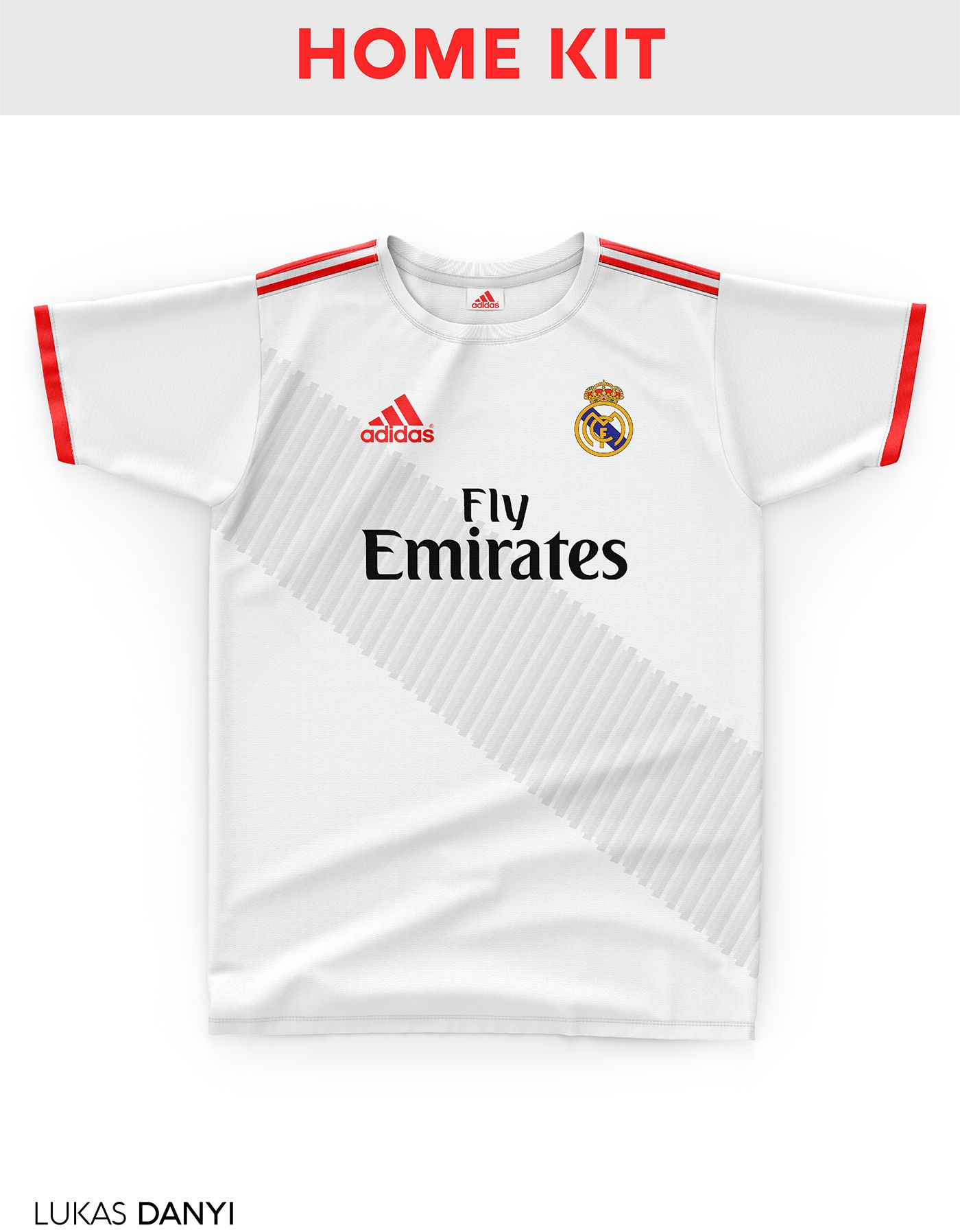 I designed football kits for Real Madrid for the upcoming season 18 ... 216f3bd3fbf52