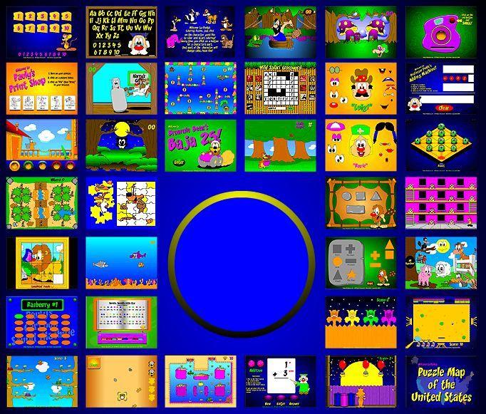 Pauly's Playhouse Activities Interactive websites