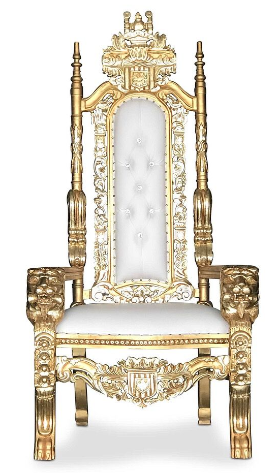 My Awesome King Throne King On Throne Fairy Tea Parties Decor