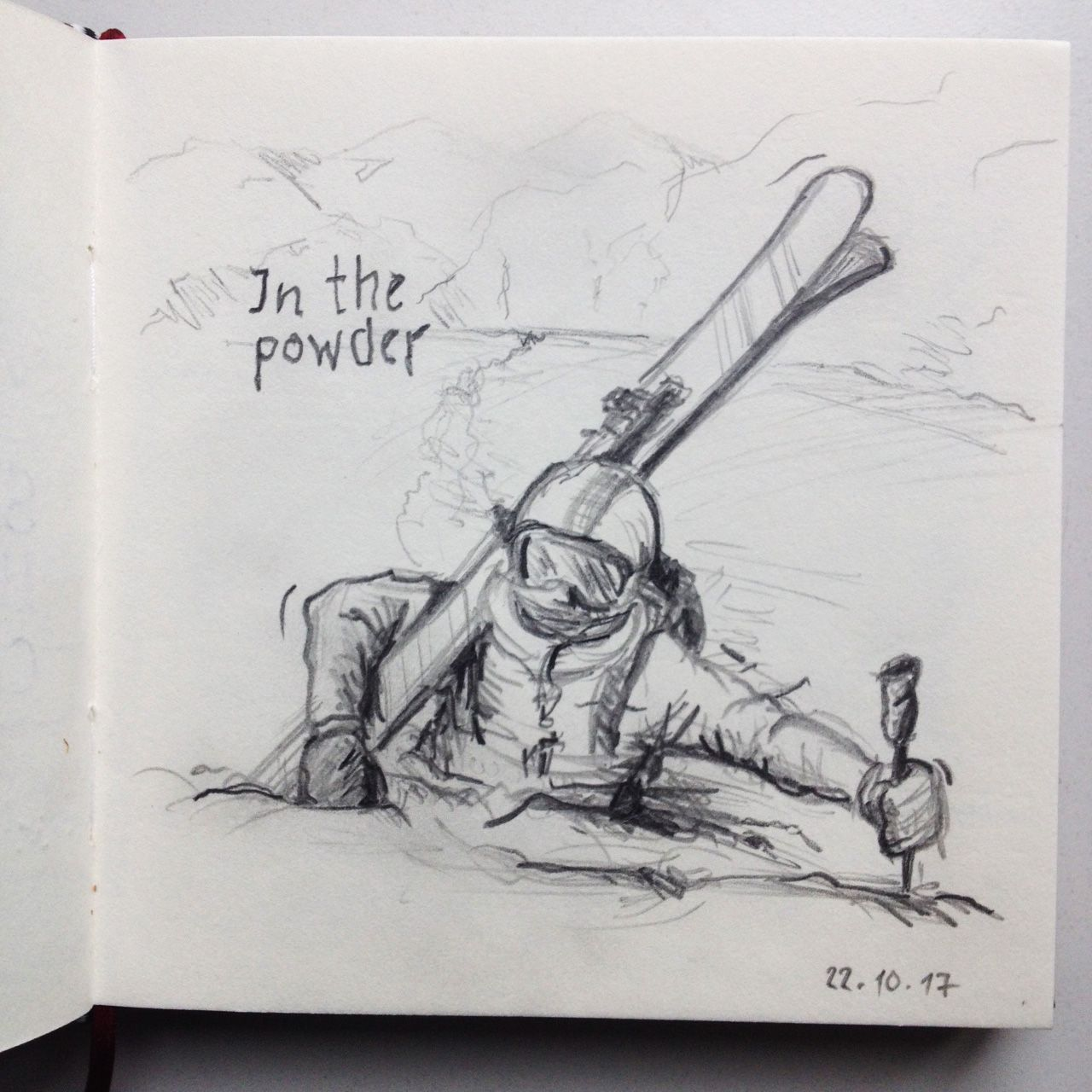 In The Powder Sketch Of The Day