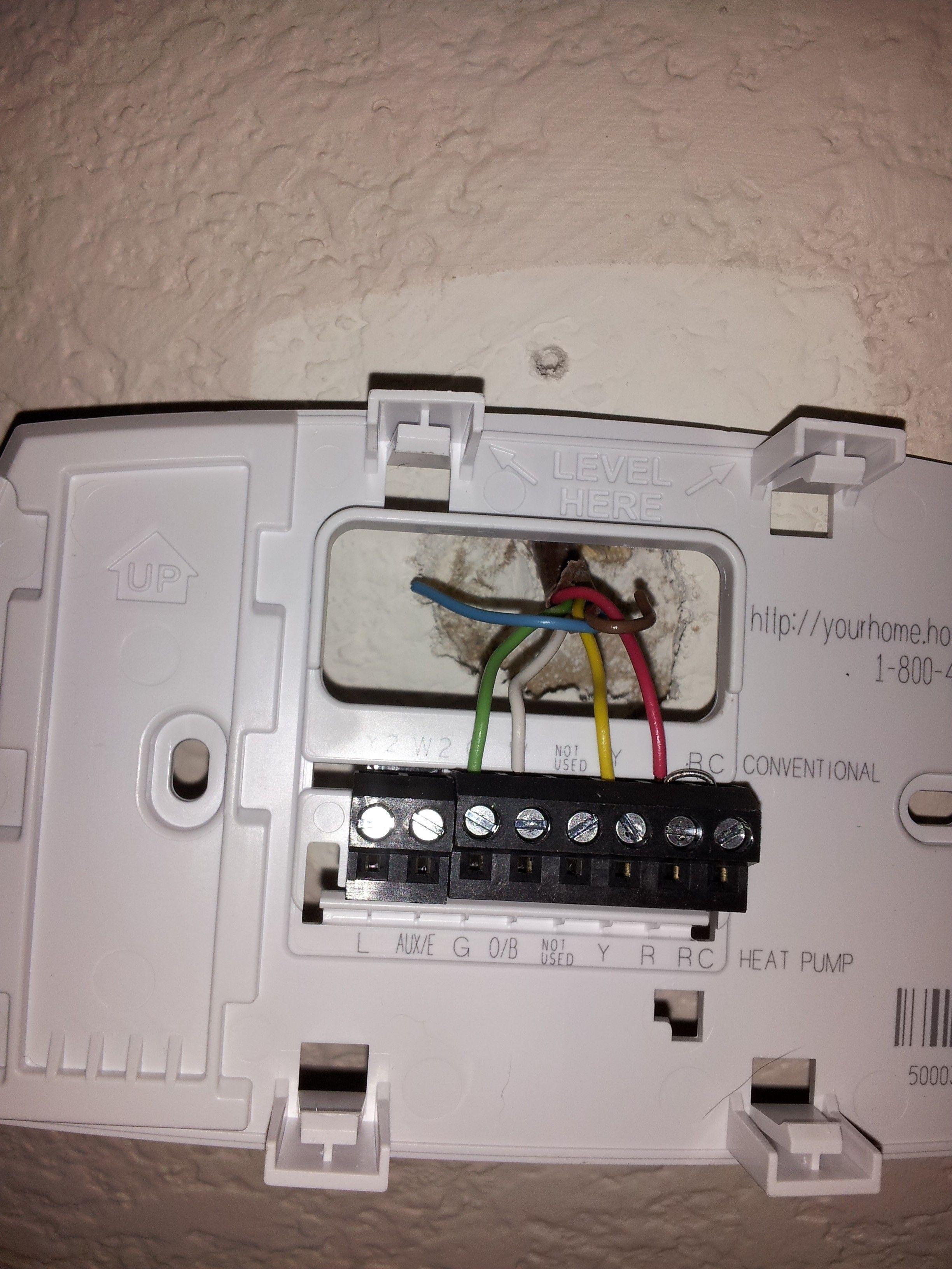 Honeywell Thermostat Wiring Diagram 2 Wire : honeywell, thermostat, wiring, diagram, Inspirational, Honeywell, Rth6350d, Wiring, Diagram, Thermostat, Wiring,, Digital, Thermostat,, Installation